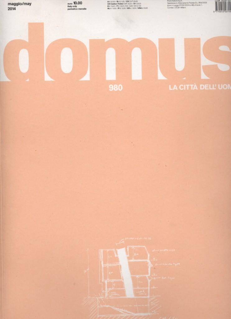 Copertina Domus maggio 2014